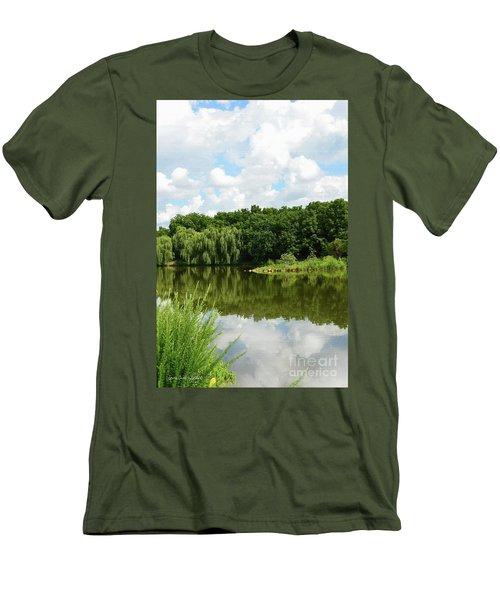 Plein Air Men's T-Shirt (Athletic Fit)