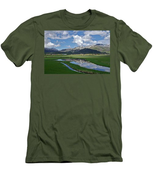 Plentiful Valley Men's T-Shirt (Slim Fit) by Matt Helm