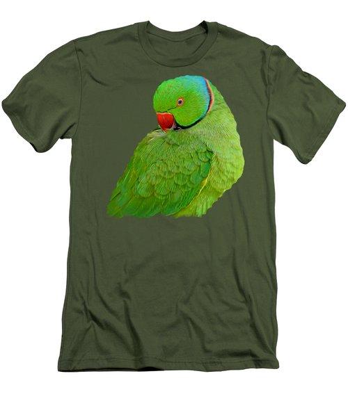 Plucking My Feathers Men's T-Shirt (Slim Fit) by Pamela Walton