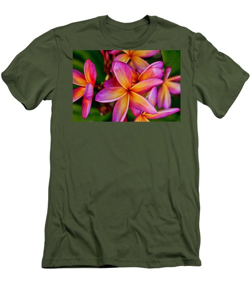 Plumeria Men's T-Shirt (Athletic Fit)