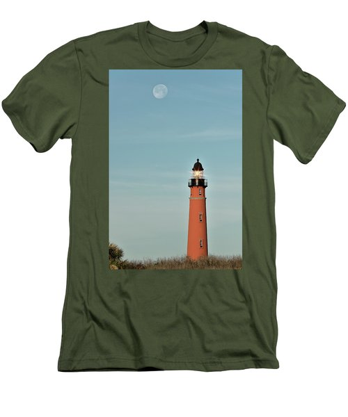 Ponce De Leon Lighthouse Men's T-Shirt (Athletic Fit)