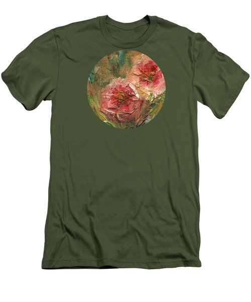 Poppies Men's T-Shirt (Slim Fit) by Mary Wolf