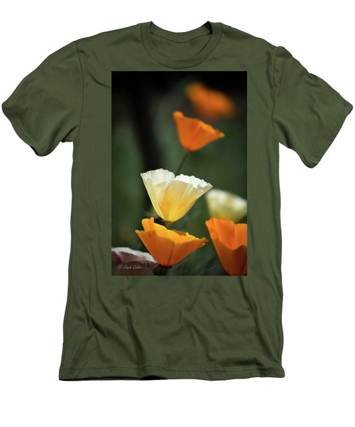 Poppy Glow Men's T-Shirt (Athletic Fit)