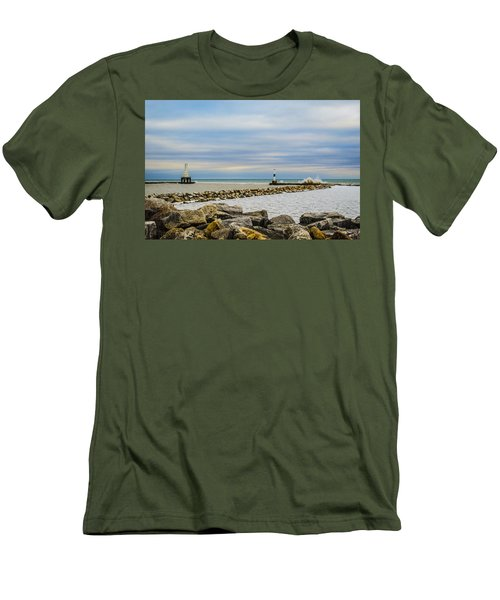 Port Washington Light 5 Men's T-Shirt (Athletic Fit)
