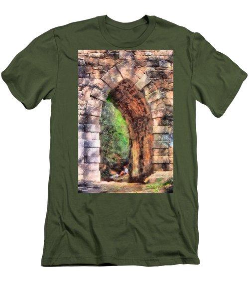 Portal Into Summertime Men's T-Shirt (Athletic Fit)
