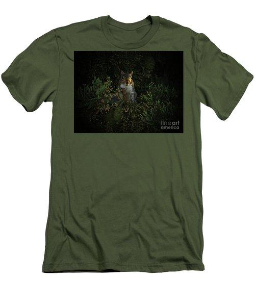 Portrait Of A Squirrel Men's T-Shirt (Athletic Fit)