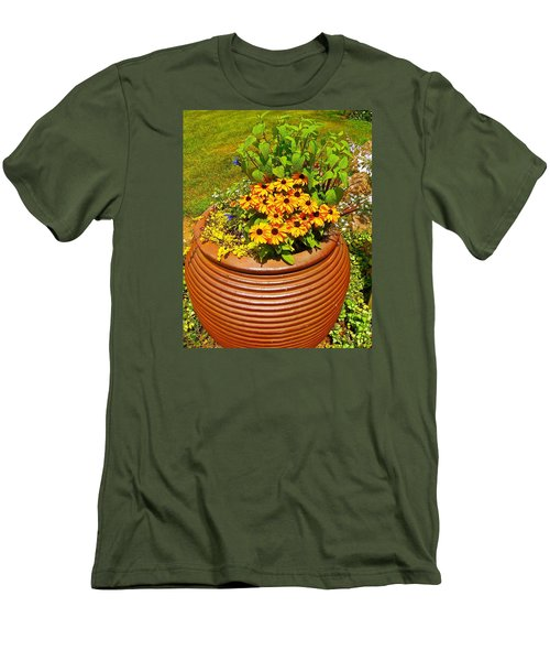 Pot O' Gold Men's T-Shirt (Slim Fit) by Randy Rosenberger