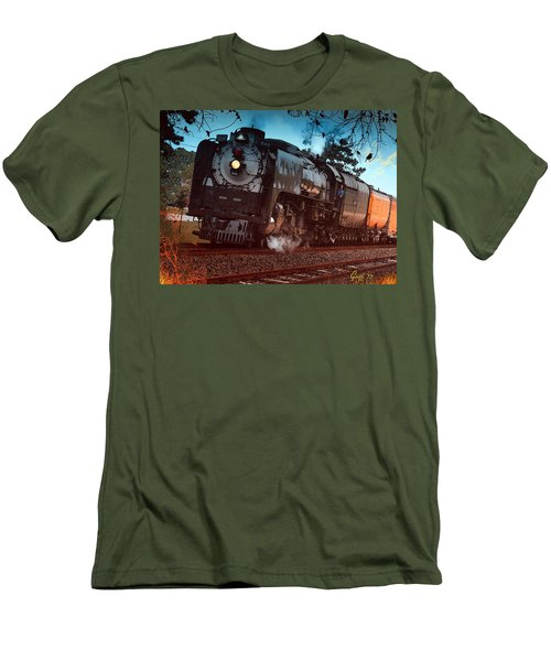 Pounding Up The Texas Grade Men's T-Shirt (Slim Fit) by J Griff Griffin