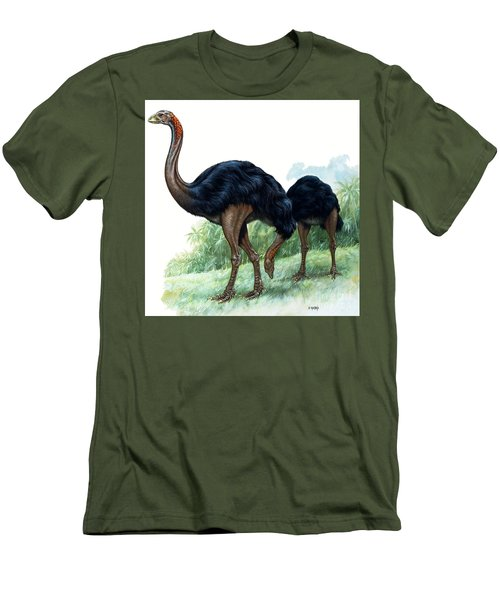 Pre-historic Birds Men's T-Shirt (Athletic Fit)