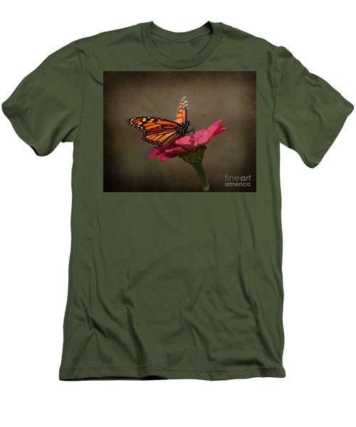 Prefect Landing - Monarch Butterfly Men's T-Shirt (Athletic Fit)