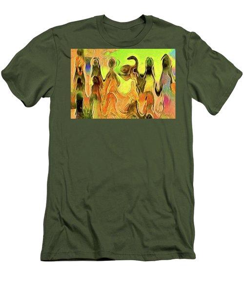 Presentation Men's T-Shirt (Slim Fit) by Alex Galkin