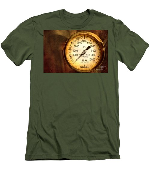 Pressure Gauge Men's T-Shirt (Athletic Fit)