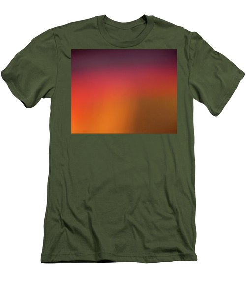 Pretend Sunrise Men's T-Shirt (Slim Fit) by CML Brown