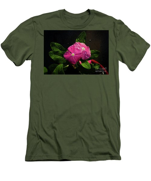 Men's T-Shirt (Slim Fit) featuring the photograph Pretty In Pink by Douglas Stucky