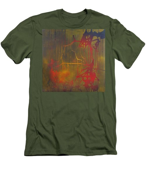 Pretty Violence Men's T-Shirt (Slim Fit) by Eric Dee