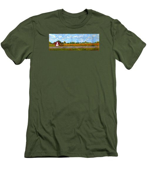 Prince Edward County Men's T-Shirt (Slim Fit) by Diane Arlitt