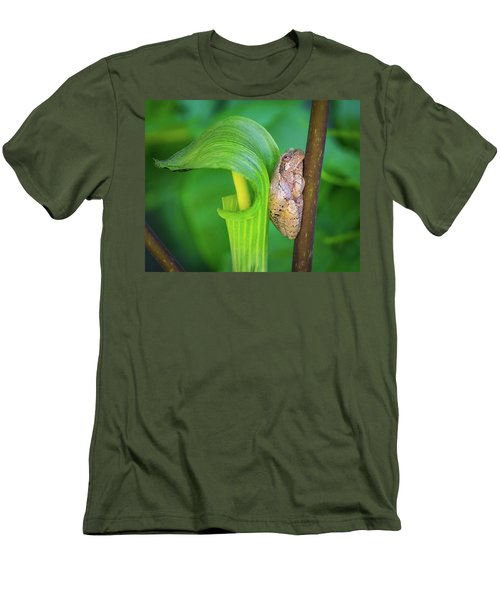 Men's T-Shirt (Athletic Fit) featuring the photograph Prince Of The Pulpit by Bill Pevlor