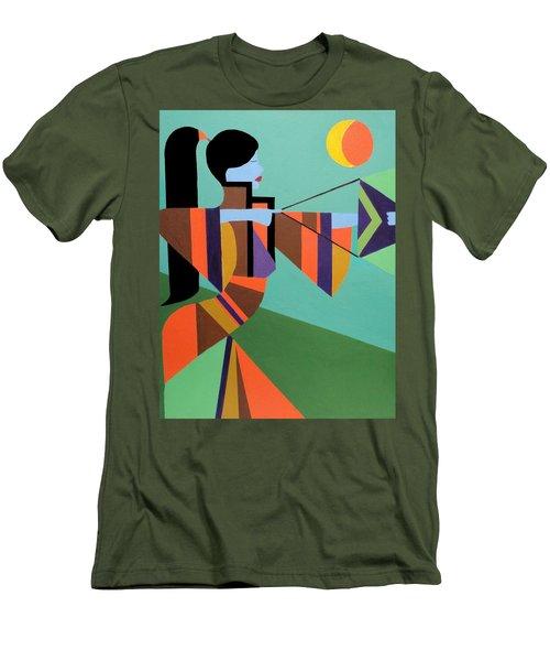 Princess Arrow Men's T-Shirt (Slim Fit) by Angelo Thomas