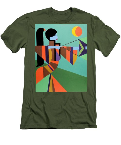 Princess Arrow Men's T-Shirt (Athletic Fit)