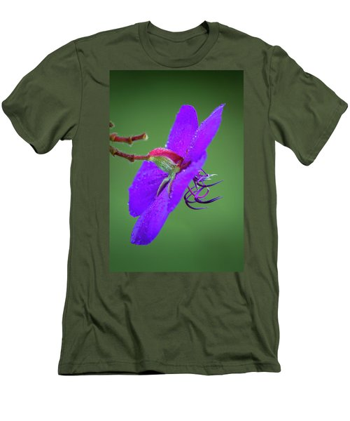Men's T-Shirt (Athletic Fit) featuring the photograph Princess Flower, Nuwara Eliya, 2012 by Hitendra SINKAR