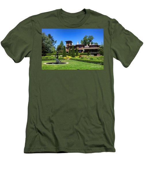 Princeton University Prospect Gardens And House Men's T-Shirt (Athletic Fit)