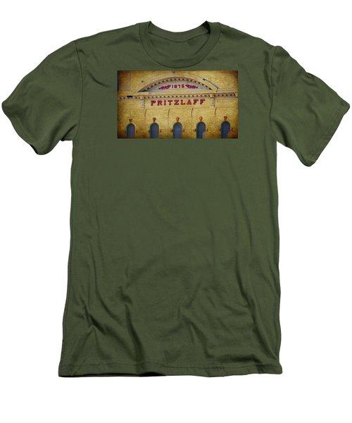 Pritzlaff Men's T-Shirt (Slim Fit) by Susan  McMenamin