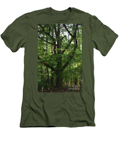 Men's T-Shirt (Slim Fit) featuring the photograph Protecting The Children by Skip Willits