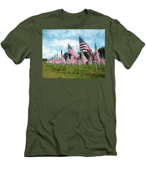 Proud And Free Men's T-Shirt (Athletic Fit)