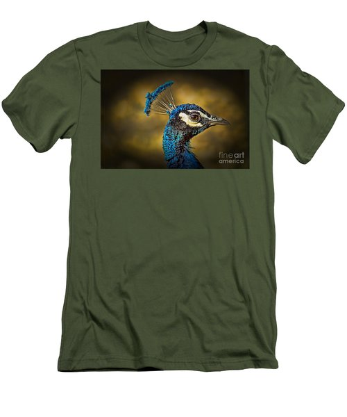 Proud As A Peacock Men's T-Shirt (Athletic Fit)