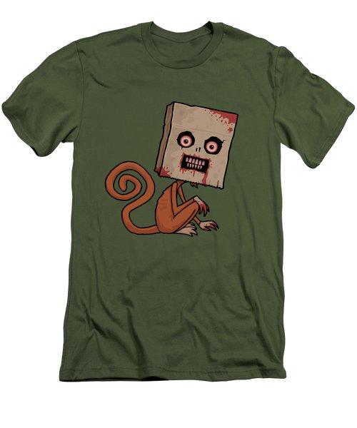 Psycho Sack Monkey Men's T-Shirt (Athletic Fit)