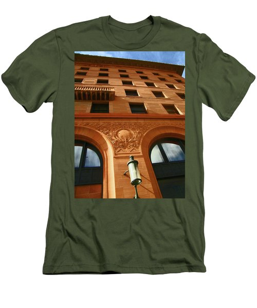 Pueblo Downtown Thatcher Building 2 Men's T-Shirt (Slim Fit)
