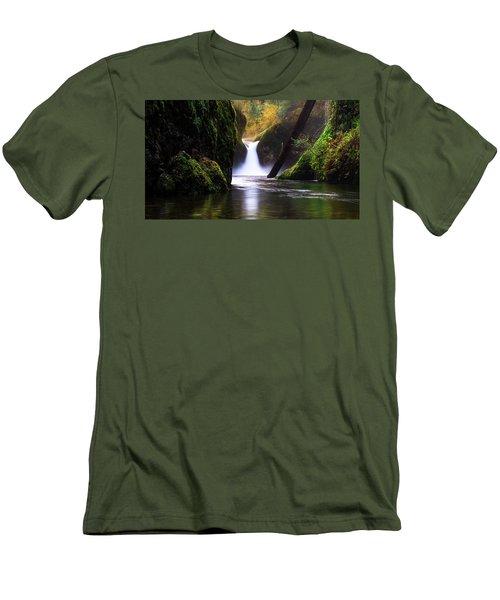 Punch Bowl  Men's T-Shirt (Slim Fit)