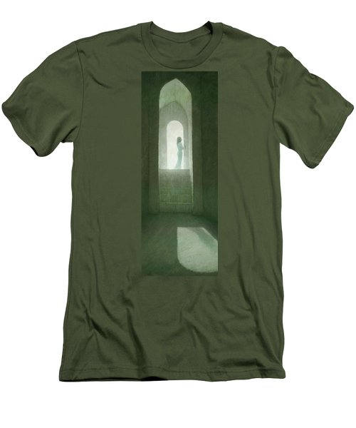 Pure Light Men's T-Shirt (Slim Fit) by Steve Mitchell