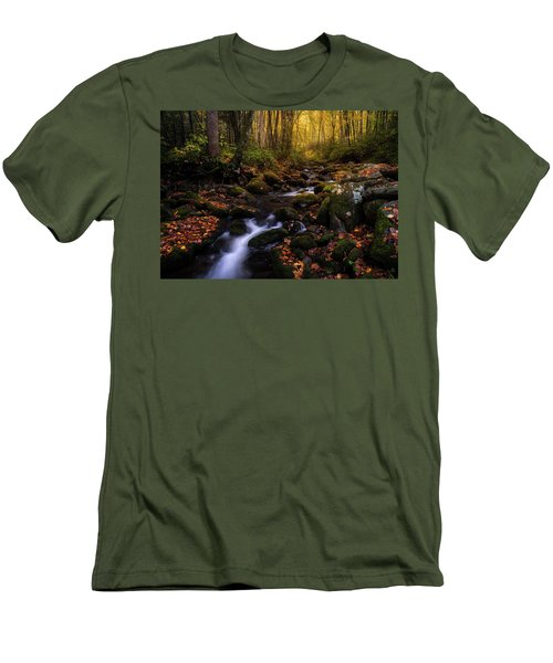 Put A Fork In It Men's T-Shirt (Slim Fit)