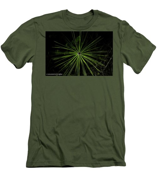 Pyrotechnics Or Pine Needles Men's T-Shirt (Slim Fit)