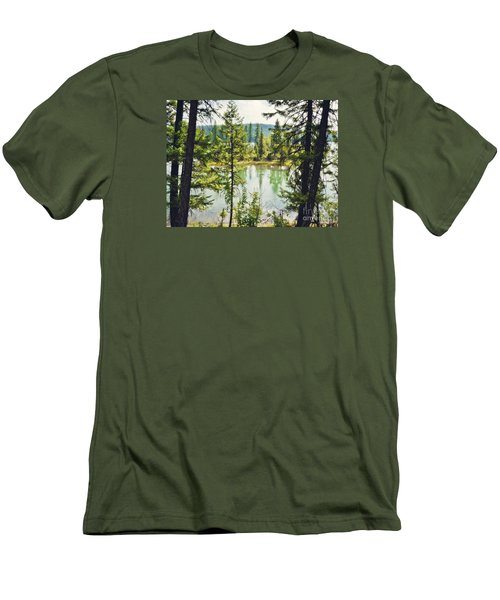 Men's T-Shirt (Slim Fit) featuring the photograph Quaint by Janie Johnson