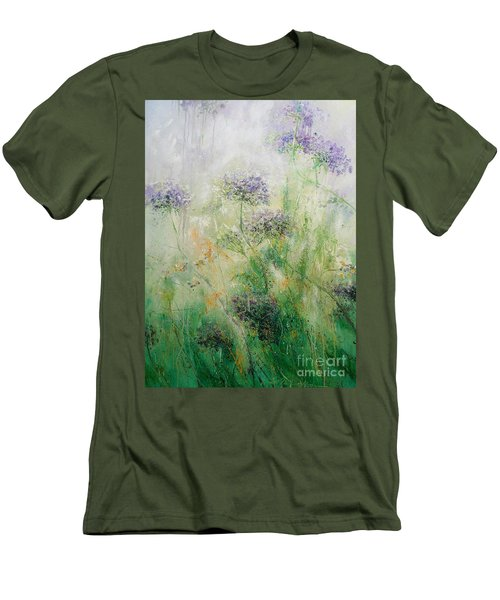 Queen Ann's Lace Men's T-Shirt (Athletic Fit)