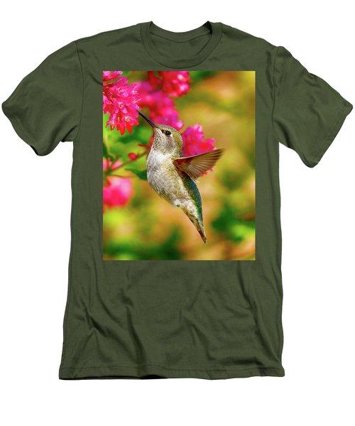Quick Lunch Men's T-Shirt (Slim Fit) by Sheldon Bilsker