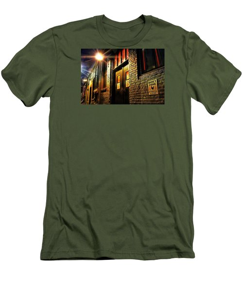 Quiet Zone Men's T-Shirt (Slim Fit) by Jessica Brawley