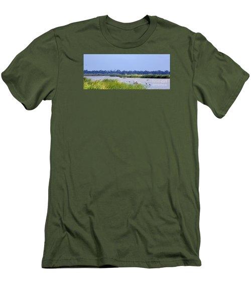 Quivira Refuge Men's T-Shirt (Athletic Fit)