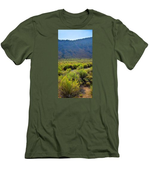Rabbit Brush In Bloom Men's T-Shirt (Athletic Fit)