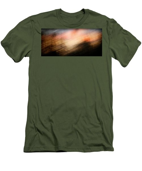 Men's T-Shirt (Athletic Fit) featuring the photograph Race You To The Top by Marilyn Hunt