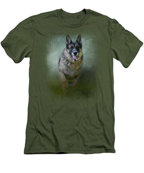 Racing The Storm Men's T-Shirt (Athletic Fit)