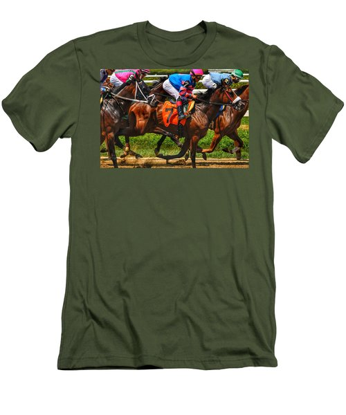Racing Tight Men's T-Shirt (Athletic Fit)