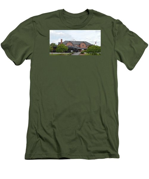 Railroad Depot Men's T-Shirt (Athletic Fit)