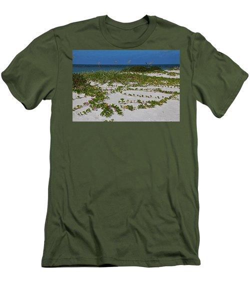 Railroad Vines On Boca IIi Men's T-Shirt (Athletic Fit)