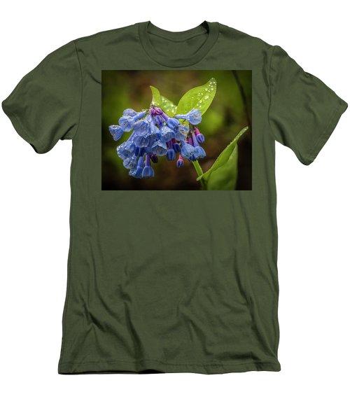 Rain Drop Bells Men's T-Shirt (Athletic Fit)