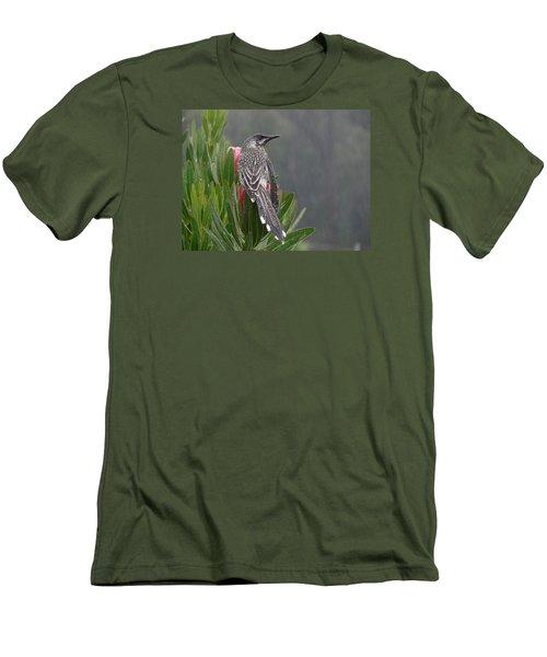 Rainbird Men's T-Shirt (Slim Fit) by Evelyn Tambour