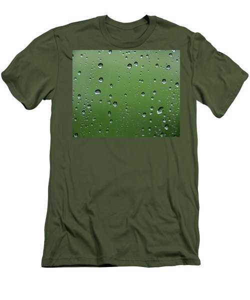 Raindrops  2 Men's T-Shirt (Athletic Fit)