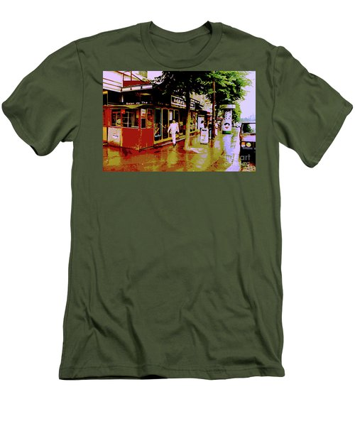 Rainy Day In Paris Men's T-Shirt (Athletic Fit)